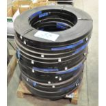 "Lot-(19) Spools of 1 1/4"" Steel Banding on (1) Pallet"