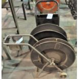 Lot-(2) Banding Carts, (Carts Only)