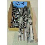 Lot-Mechanic Sockets and Socket Organizers in (1) Box