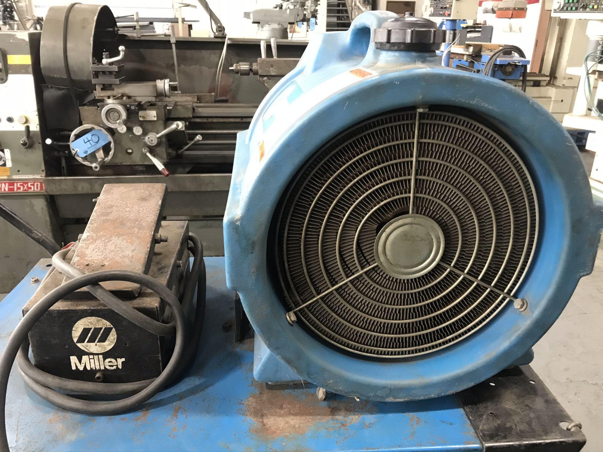 Miller Syncrowave 250 Welder w/ Coolmate 4 Chiller - Image 2 of 3