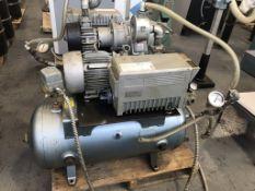 Busch RA0063-E506-1001 Vacuum Pump w/ 30 Gallon Tank