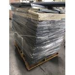 Pallet w/ Disassembled Metal Shelves