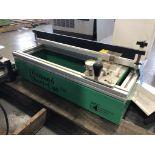 Encore Engineering Model# DSC 020, Table Top (Diamond) Squeegee Sharpener, 115 Volt