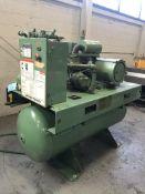 Gardner-Denver Model# FJBRDB, Rotary Screw Type Air Compressor