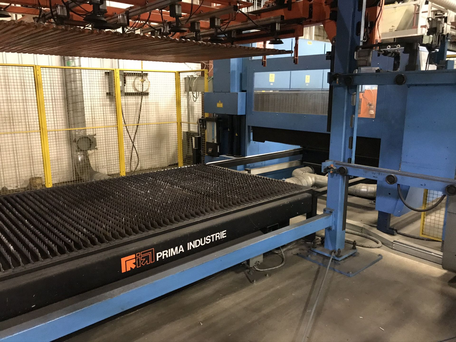 Lot 5 - Prima Model Platino1530 Laser Complete with Load/Unload System (2007)