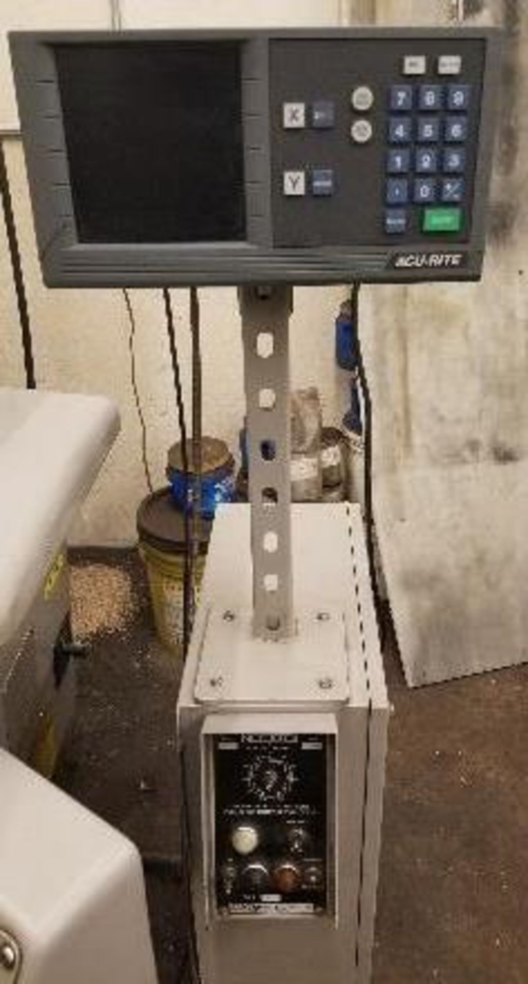 "Okamoto ACC-124N Hydraulic Surface Grinder 14"" Wheel w/ 12"" x 24"" Walker Electromagnetic Chuck - Image 8 of 14"