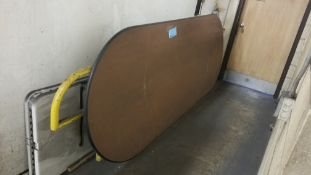 """48"""" x 120"""" Oval Table Top"""