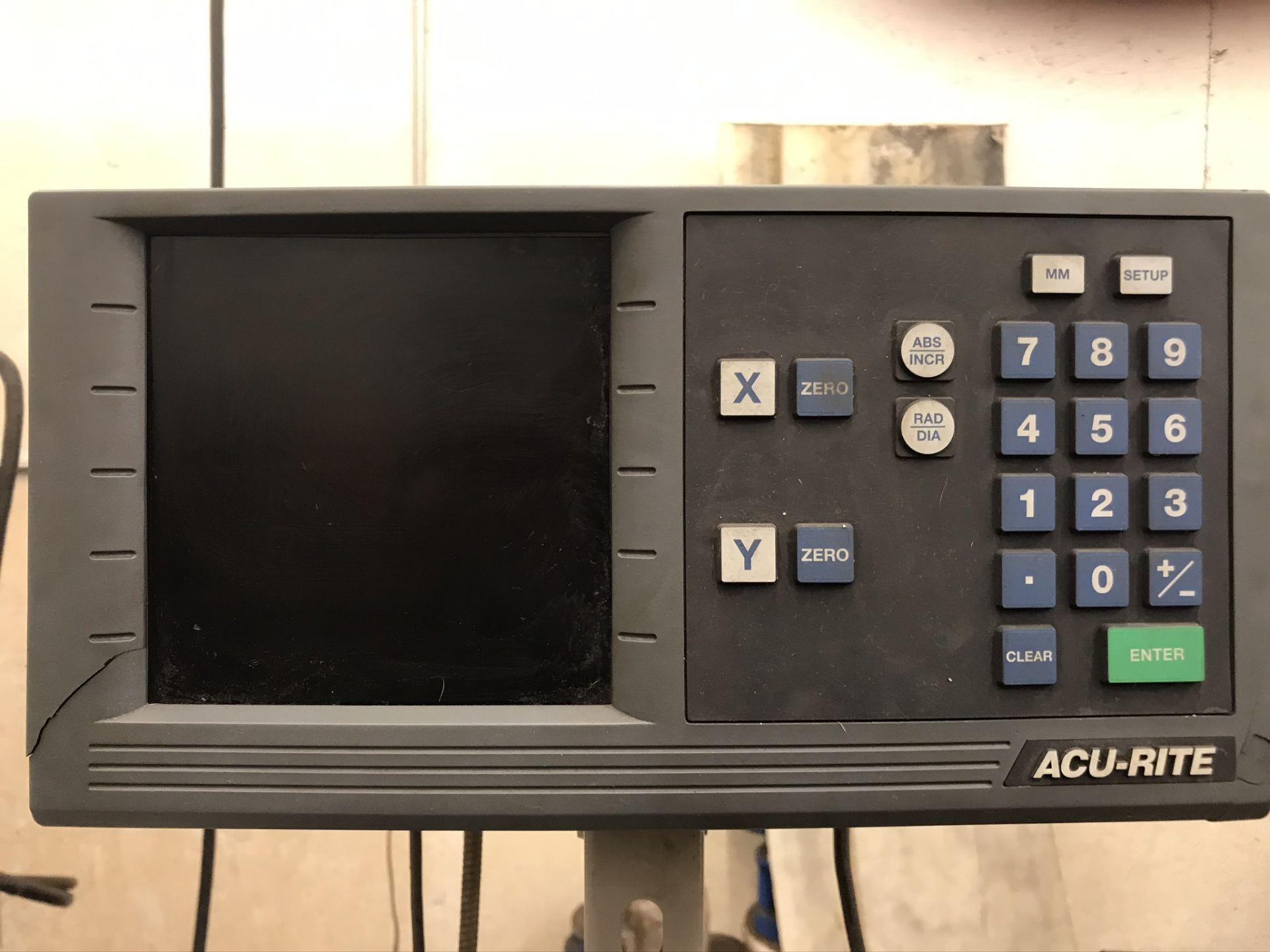 "Okamoto ACC-124N Hydraulic Surface Grinder 14"" Wheel w/ 12"" x 24"" Walker Electromagnetic Chuck - Image 9 of 14"