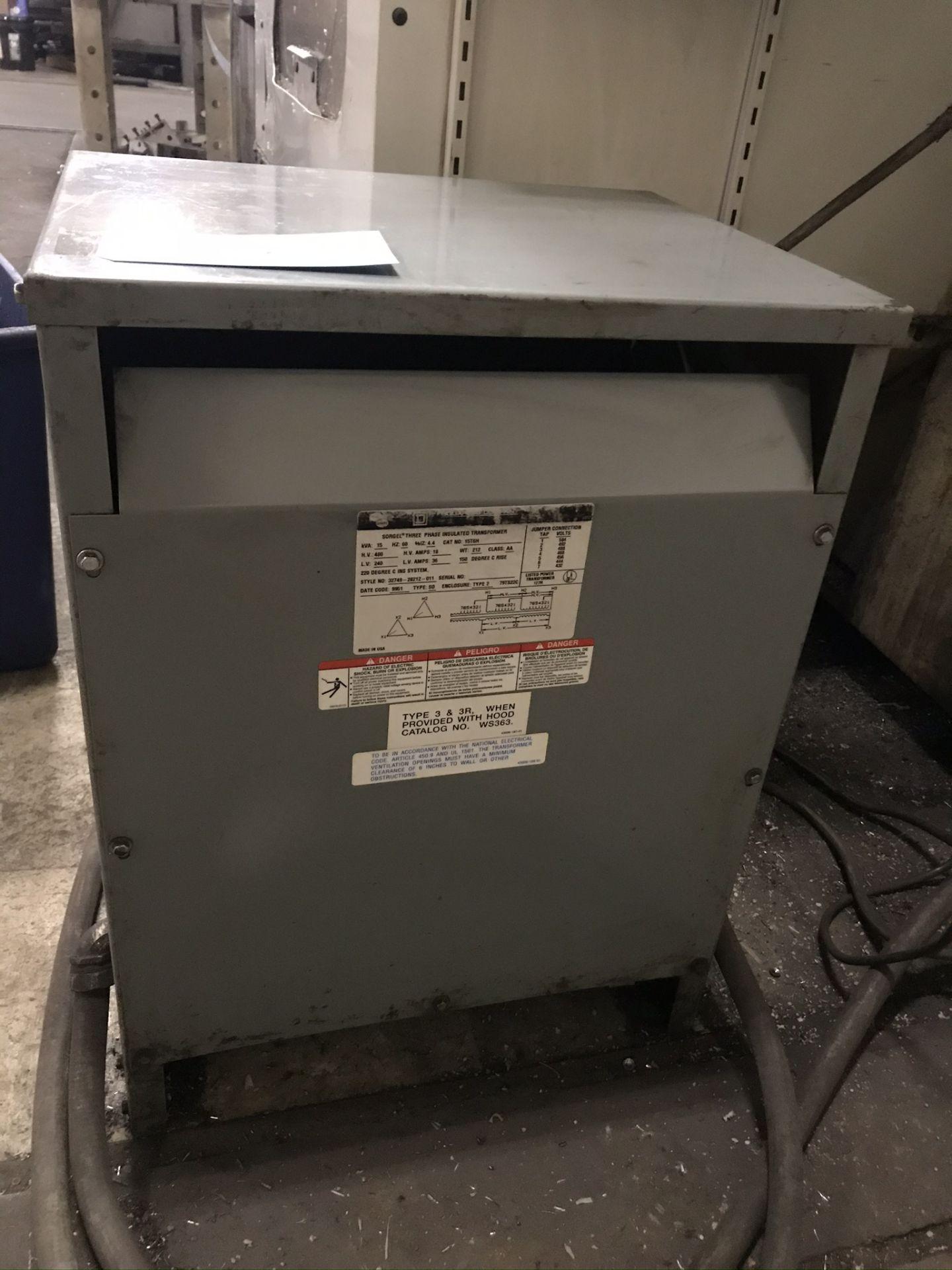 Square D 15 KVA Transformer