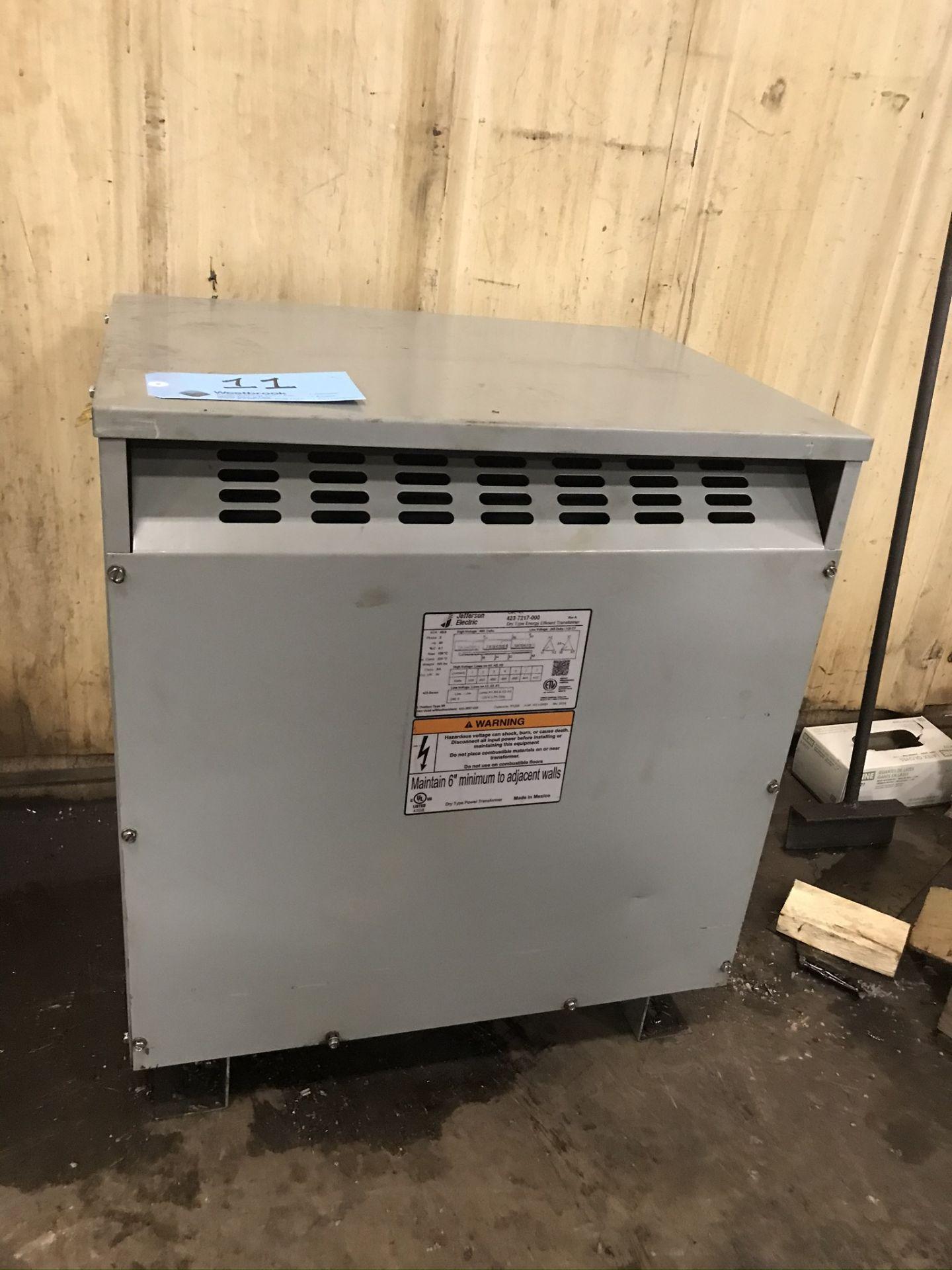 Jefferson Electric 45 KVA Transformer