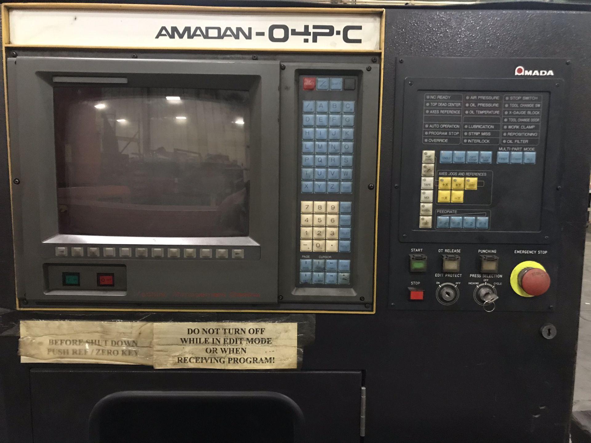 Amada Pega 357 CNC Turret Punch - Image 4 of 7