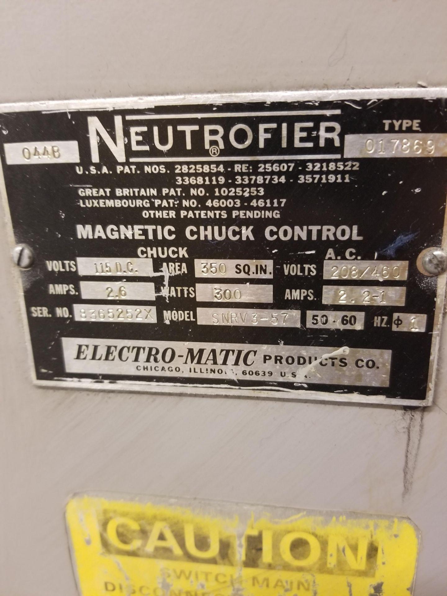 "Okamoto ACC-124N Hydraulic Surface Grinder 14"" Wheel w/ 12"" x 24"" Walker Electromagnetic Chuck - Image 12 of 14"