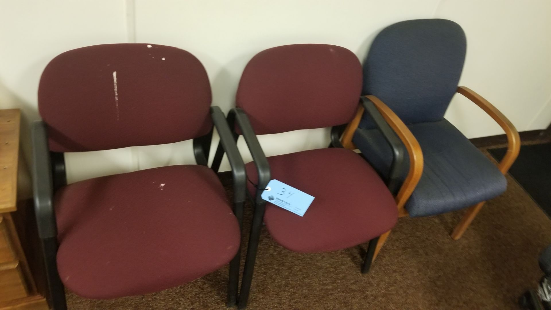 (5) Assorted Office Chairs - Image 3 of 3