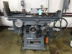 """Churchill Model NB Hydraulic Surface Grinder, 8"""" x 20"""" Chuck, 8"""" Wheel Diameter, X & Y Power Feeds"""