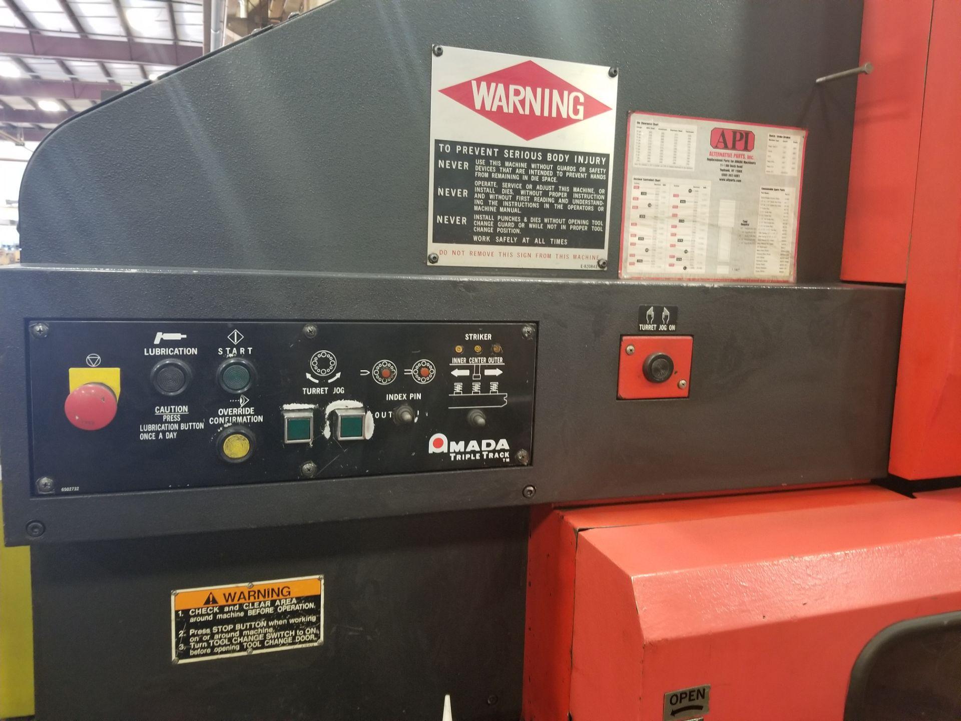 Amada Pega 357 CNC Turret Punch - Image 2 of 7