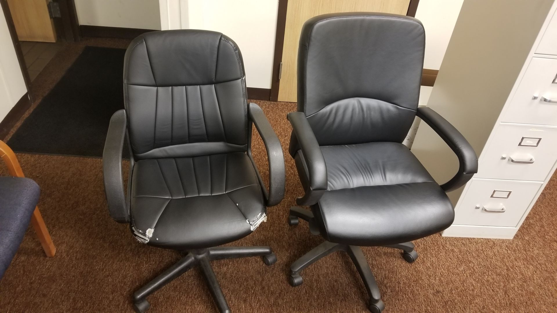 (5) Assorted Office Chairs - Image 2 of 3
