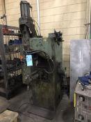 "Creative Welding 75 KVA Press Type Spot Welder, 21"" Throat, Miller Chiller"