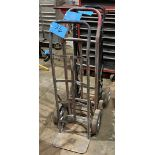 Lot-(3) Various 2-Wheel Hand Carts