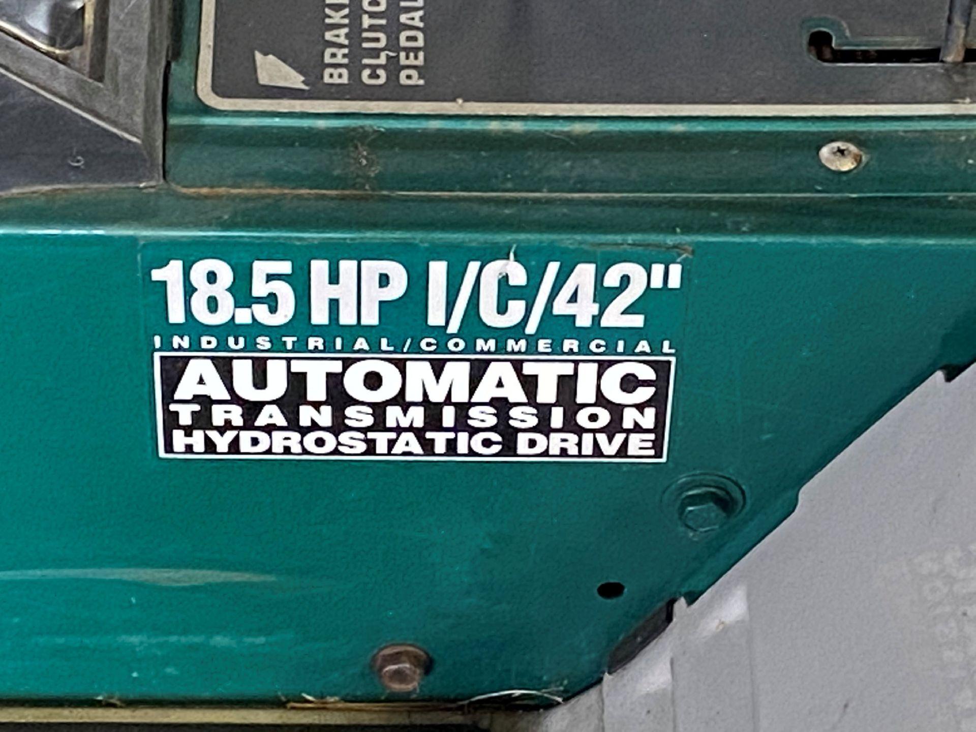 "MTD Yard Machine 18.5-HP x 42"" Cut, Gas Powered Riding Lawn Mower - Image 3 of 3"