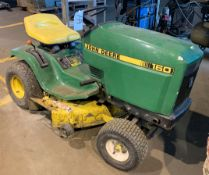 John Deere Model 160, Gas Powered Riding Lawn Mower