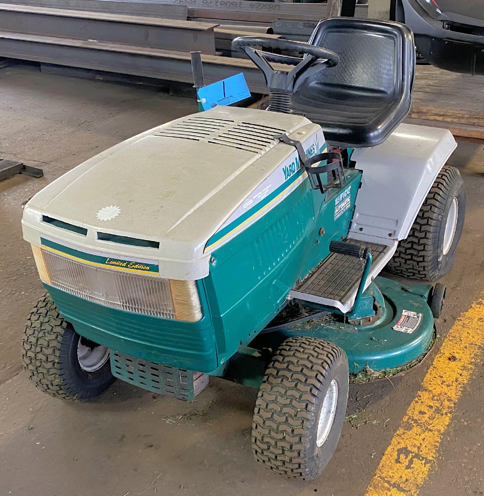 "MTD Yard Machine 18.5-HP x 42"" Cut, Gas Powered Riding Lawn Mower"