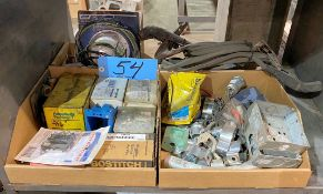 Lot-Electrical Hardware in (3) Boxes