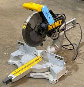"DeWalt Model DW708, 12"" Compound Miter Saw"