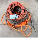 Lot-Various Air Hoses in (1) Stack