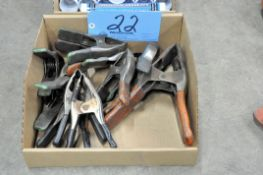 Lot-Various Squeeze Clamps in (1) Box