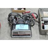 Schumacher 2/10/50-Amp Capacity 12-Volt Battery Charger with (1) Set Jumper Cables