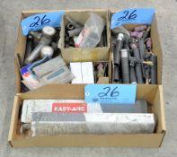 Lot-Welder Accessories, Flow Gauges, and Welding Rods in (3) Boxes