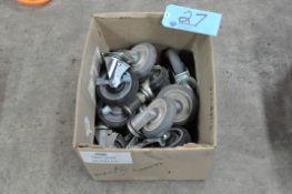 Lot-Caster Wheels in (1) Box