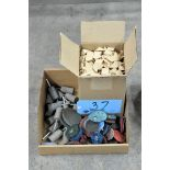 Lot-Grinding Stones, Sanding Disks, and Lapping Paper in (1) Box