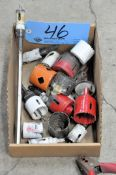 Lot-Various Hole Saws in (1) Box