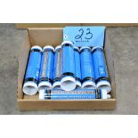 Lot-Industrial Grade RTV Silicone Tubes in (1) Box