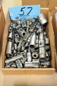 Lot-Various Drive Sockets in (1) Box