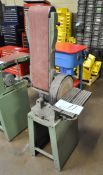 "Central Machinery Combination 6"" Belt x 9"" Disk Vertical Sander, 1-PH"