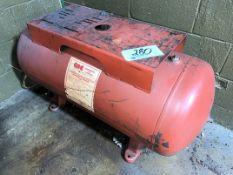 Central Air Compressor Brand Compressed Air Receiving Tank