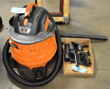 Ridgid NXT Portable Shop Vac with Attachments in (1) Box