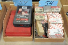 Lot-Heli Coil Kit and Products in (2) Boxes