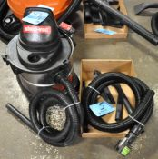 Portable Shop Vac with Hose and Attachments in (1) Box