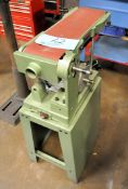 "Central Machinery 6"" Horizontal Belt Sander, 1-PH (Needs Repair)"