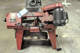"Central Machinery Model 93762, 4"" x 6"" Horizontal Metal Cutting Band Saw, S/n N/a, Portable"