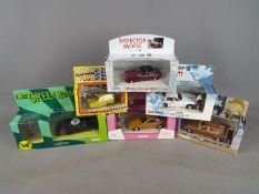 Corgi - Six boxed TV related diecast model vehicles by Corgi.