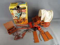 Marx - A boxed 'The Lone Ranger Ranger 4-in-1 Praire Wagon'.