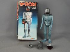 Palitoy, Action Man - A boxed vintage Palitoy Action Man Rom The Space Knight.