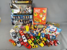 Matchbox, Corgi, Ho Wheels, Corinthian - A small quantity of unboxed diecast cars,