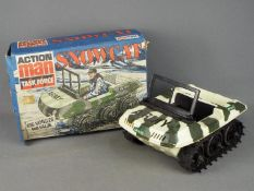 Palitoy, Action Man - A boxed vintage Palitoy Action Man Snowcat.