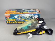 Palitoy, Action Man - A boxed vintage Palitoy Action Man Space Ranger Electronic Solar Hurricane.