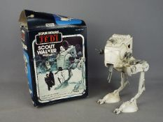 Palitoy, Star Wars - A boxed vintage Palitoy Star Wars Return of the Jedi 'Scout Walker' .